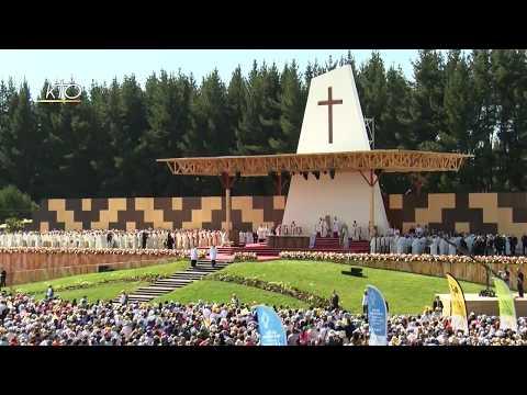 """Mapuche : Le pape François contre la """"déforestation"""" de l'espérance"""