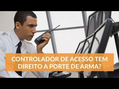 Porte de Arma - Vigilante que Trabalha como Controlador de Acesso tem Direito ao Porte de Arma?