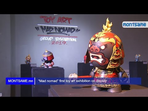 """Mad nomad"" first toy art exhibition on display"