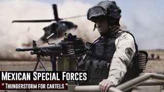 """Mexican Special Forces 2018 / """"Thunder for cartels"""""""