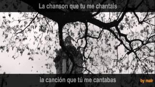 Les feuilles mortes avec paroles français / español