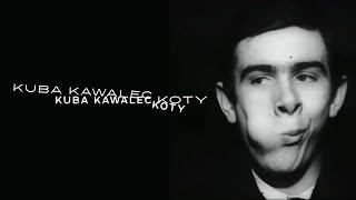 Kadr z teledysku Koty tekst piosenki Kuba Kawalec