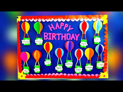 mp4 Class Decoration Birthday Chart, download Class Decoration Birthday Chart video klip Class Decoration Birthday Chart