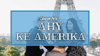 Liburan ke Amerika, Agus Yudhoyono Ajak Annisa Pohan dan Almira Jalan-jalan di Hamparan Salju