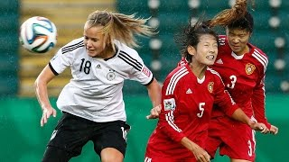Germany v. China PR, Canada 2014 HIGHLIGHTS