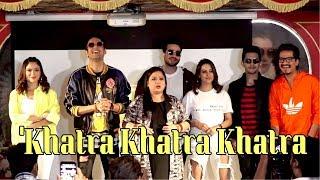 Bharti Singh & Vikas Gupta, Aditya At The Launch Of Colors New Show 'Khatra Khatra Khatra.
