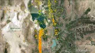 Massive Bird Migration Movement December 9, 2013 on DeTect's AHAS Bird Radar System