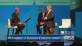 Governor, GOP Challenger Face Off At Trebek-Hosted Forum