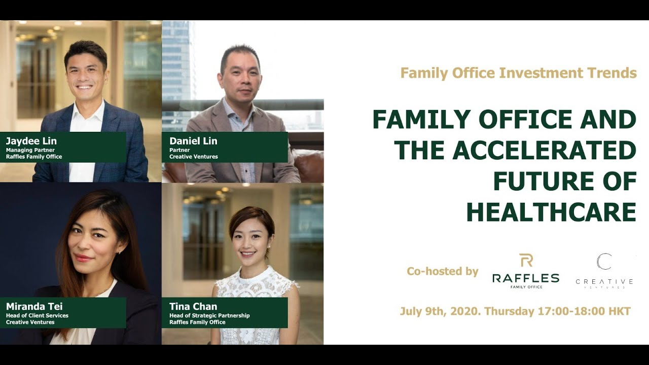 Webinar: Family Office and the Accelerated Future of Healthcare