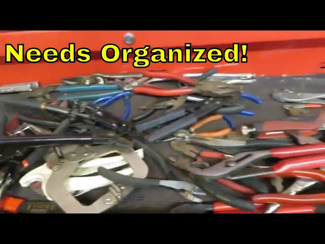 Youtube Video for Plier Organizer Rack For Tool Box Drawer by Chad Myers73