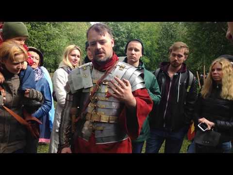 """""""Один день в Древнем Риме"""" - о тренировках и быте римских легионеров видео"""