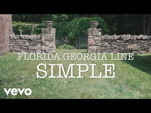 Florida Georgia Line - Simple (Lyric video) Cover Image