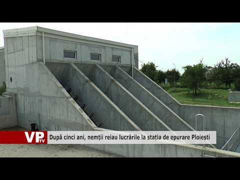 După cinci ani, nemții reiau lucrările la stația de epurare Ploiești
