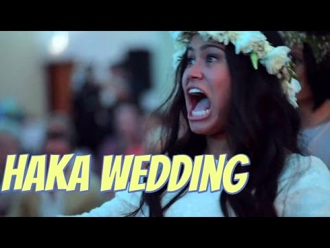 Wedding haka moves New Zealand Maori bride to tears