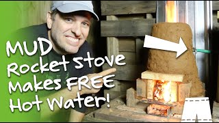 How To Make A Cobb Rocket Stove Water Heater