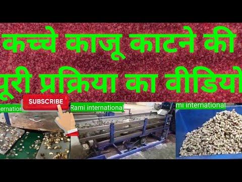 Raw Cashew Shelling Machine