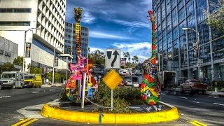 Gibson Guitar Art On Sunset Strip, West Hollywood
