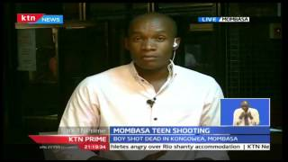 post-mortem examination has revealed that the 16-year old Tony Katana was killed by two bullets