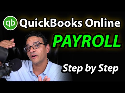 QuickBooks Online PAYROLL - Full Tutorial