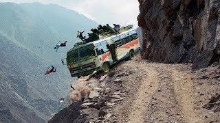 Most Dangerous mountain roads In The World, Heavy Equipment Truck Skill Driving 2019, Dangerous trip
