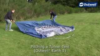 Outwell Earth 5 Tent Pitching Video |  Innovative Family Camping