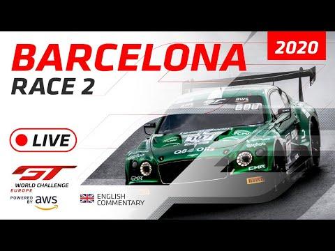2020年 ブランパンGTシリーズ(バルセロナ)レース2ライブ配信動画
