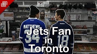 A Day in the Life of a Jets Fan in Toronto