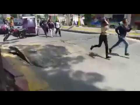 Мексика в ужасе, земля дышит и шевелится асфальт