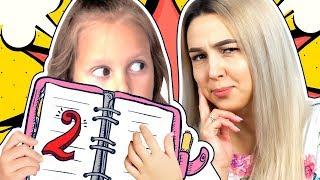 АМЕЛЬКА получила Двойку! Что делать: подменить дневник или исправить оценку? Видео для детей!