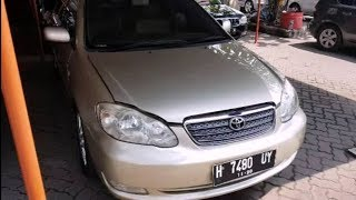 Toyota Corolla Altis 1.8 G 2005 Review (In Depth Tour)