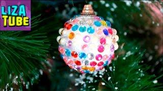 Для Эльзы Frozen ❄ Делаем игрушки на ЁЛКУ 🌲 Новогодние поделки Своими руками 🌲 DIY