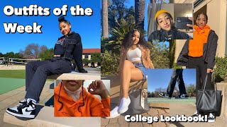 College Outfits Of The Week | School Lookbook 2020