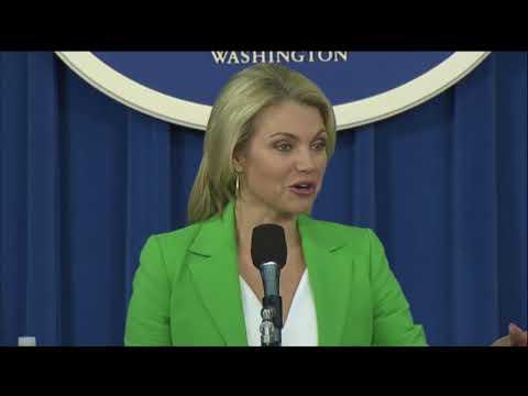 Foreign Press Center Briefing with Spokesperson Nauert - August 16, 2017