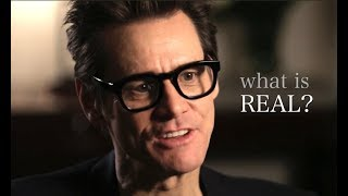 What really exists | under the surface – Jim Carrey
