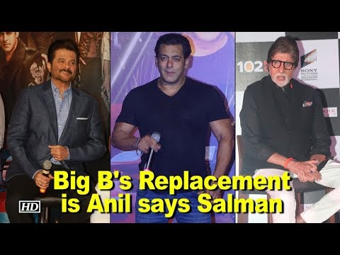 Mr. Bachchan's Replacement is Anil Kapoor says Salman Khan
