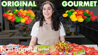 Pastry Chef Attempts To Make Gourmet Skittles | Gourmet Makes | Bon Appétit - dooclip.me