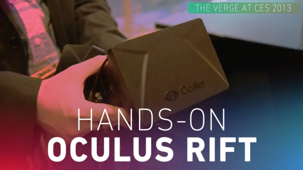 Oculus Rift hands-on video at CES 2013 thumbnail