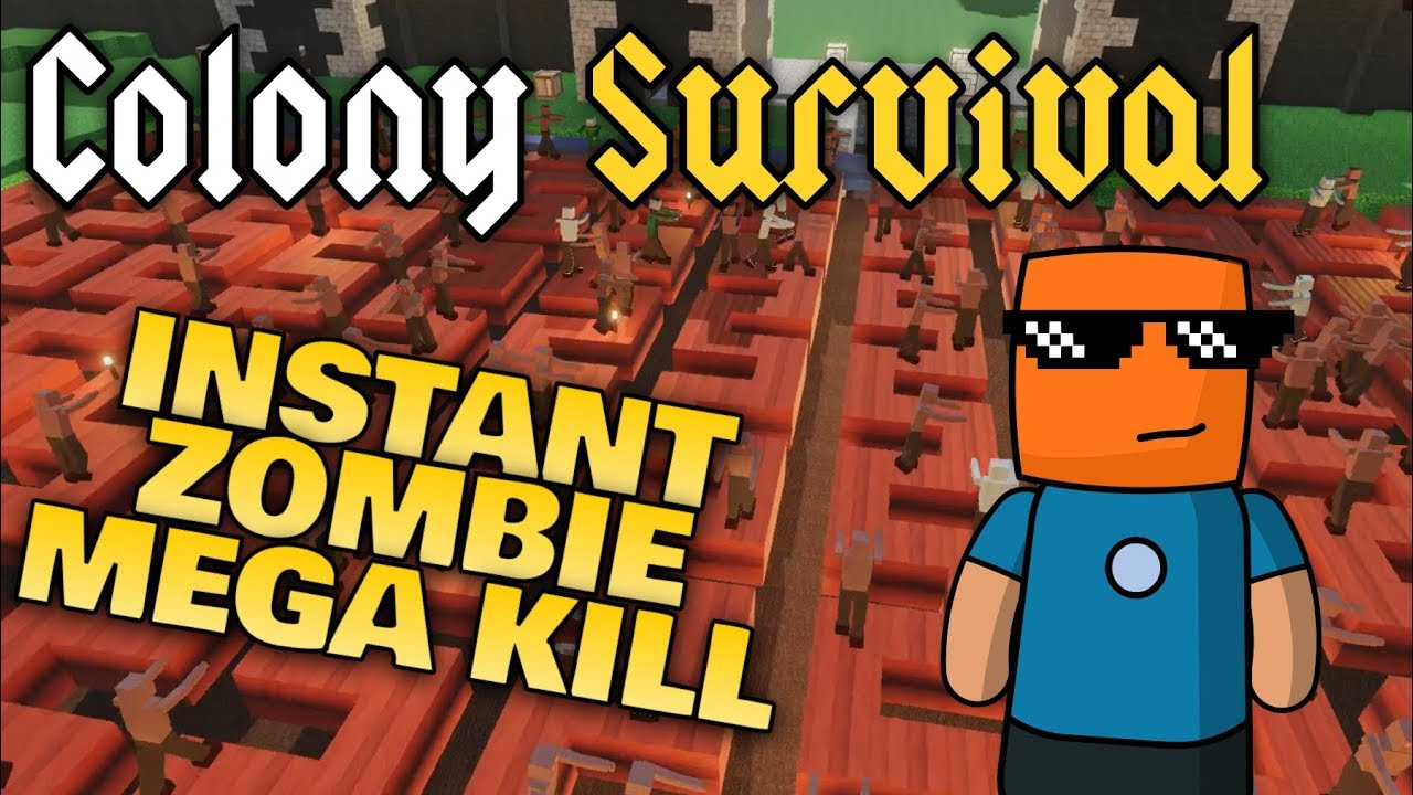 Colony Survival | Zombie Instant Kill