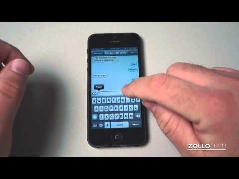 iPhone 5 Tips - Texting