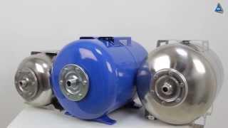 Гидроаккумулятор Aquasystem VAO 24 от компании ПКФ «Электромотор» - видео 2