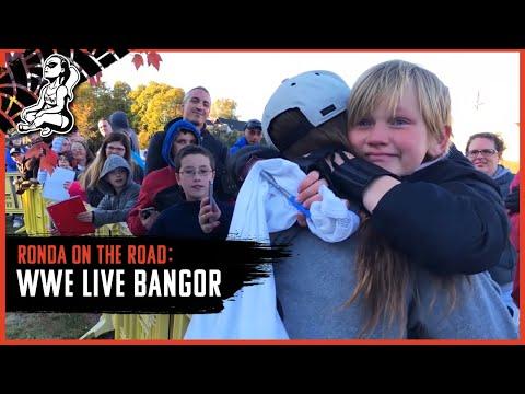 Ronda on the Road   WWE Live Bangor
