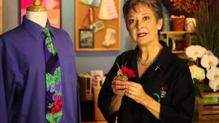 Pinning a Boutonniere to a Dress Shirt : Everything Flowers