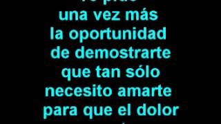 Luis Fonsi- Nuestro amor eterno (Letra)