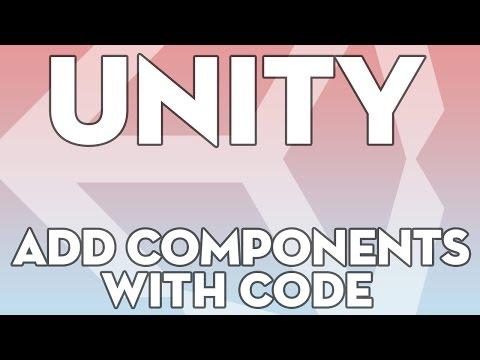 Unity Tutorials - Beginner 15 - Adding Components via Script - Unity3DStudent.com