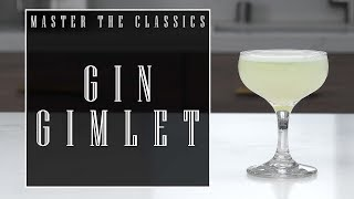 The Best Gin Gimlet