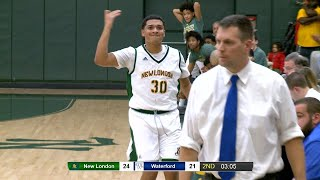 Highlights: New London 76, Waterford 67