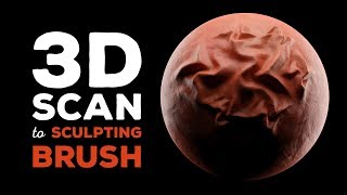 3D Scan to Sculpting Brush Workflow (PhotoScan and Blender)