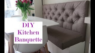 DIY Kitchen Banquette | Life Lessons With Mr. X