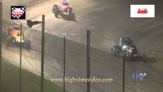Sprint_Cars - Atomic2015 Highlights