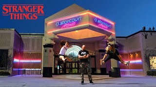 SNEAKING INTO Stranger Things Filming Locations | Starcourt Mall, Hawkins Lab & More!